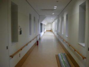 病院内装塗装/川田建装